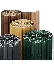 casa pura PVC Tuinscherm - Privacyscherm | Windscherm voor Balkon, Terras en Tuin| Balkonscherm | Zonnescherm Zijgordijn - Makkelijk te Installeren | 7 maten beschikbaar