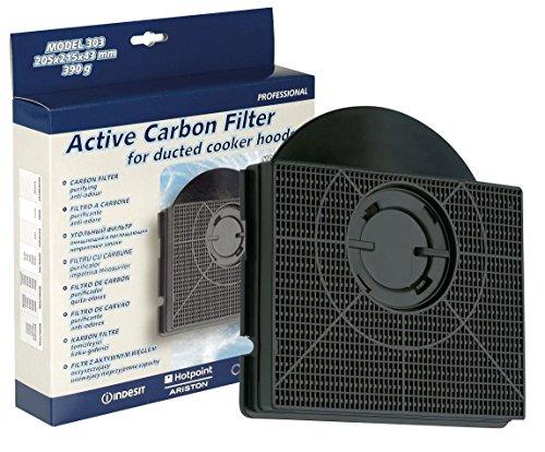 HOTPOINT INDESIT Herd Kapuze anthrazit Carbon Filter. Original Teilenummer c00090716