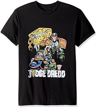 Judge Dredd - Bike And Badge T-Shirt Size XXXL