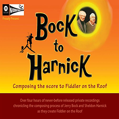 Bock to Harnick audiobook cover art