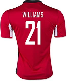 Williams #21 Trinidad and Tobago Home Soccer Jersey 2015 (XL)