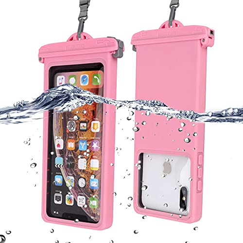 BBSS Resistente a la rotura impermeable teléfono móvil bolsa plástico impermeable caja impermeable multifuncional caja para bucear/surfing/natación/playa jugar