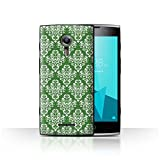 Stuff4 Phone Case for Alcatel Flash 2 Green Fashion Classic