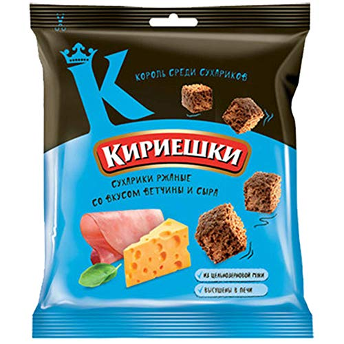Brotchips Kirieschki mit Schinken-Käse-Geschmack 10 Packungen (10 x 40g)