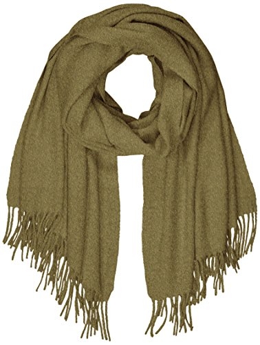 PIECES Damen PCJIRA WOOL SCARF NOOS Schal, Grün (Dark Olive), One Size