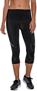 CW-X Women's Stabilyx Joint Support 3/4 Capri Compression Tight