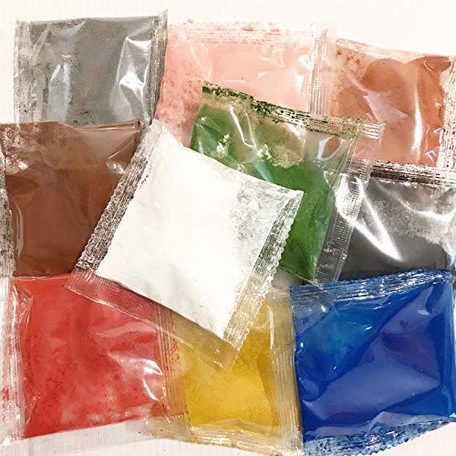 Lebensmittelfarbe Pulver Fettlöslich 10 x 10g Regenbogenkuchen