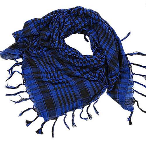 hkwshop Bufandas Chal Bufandas envolvén Bufanda Moda Mujeres Hombres Unisex Bufanda Envolver Chal Bufandas práctico Moda Bufandas (Color : B)