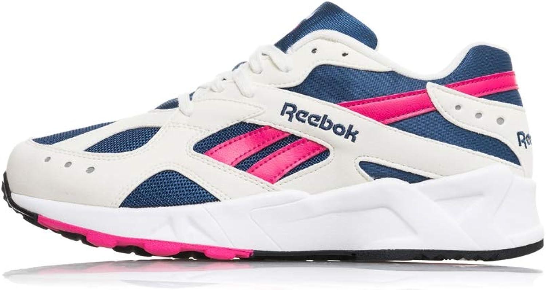 Reebok Aztrek, og-Chalk-Collegiate Royal-Bright pink-White, 12