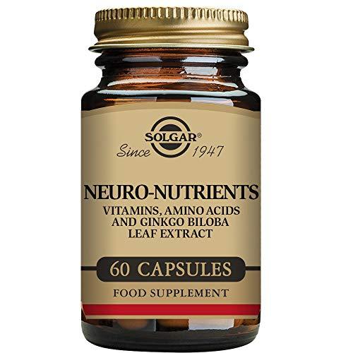 Solgar Neuro-Nutrientes Cápsulas vegetales - Envase de 60