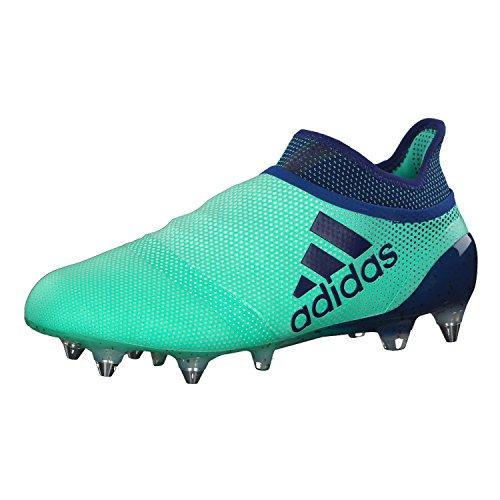adidas X 17 SG, Scarpe da Calcio Uomo, Verde (Aergrn/Uniink/Hiregr Aergrn/Uniink/Hiregr), 40 EU
