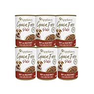 Applaws 100% Natural and Grain Free Dog Food Pate, Beef with Vegetables, 400 g Tin (Pack of 6 Tins)