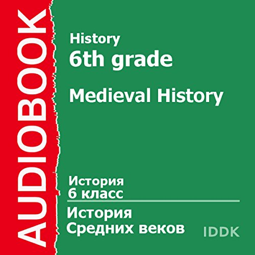 History for 6th Grade: Medieval History [Russian Edition] Titelbild