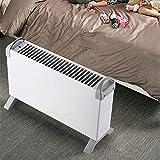 ZP-Heater Radiateur électrique à inertie Fluide caloporteur,Minuteur Intégré, 4 Puissances de Chauffage,Thermostat, 2000W, Télécommande