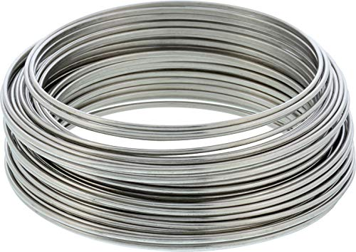 The Hillman Group 123114 Hillman 30' Stainless Steel Hobby Wire 19 Gauge