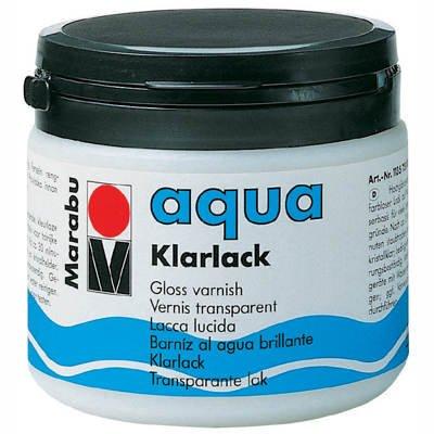 Marabu aqua Klarlack, Kunststoffdose 500ml [Spielzeug]