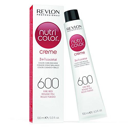 REVLON PROFESSIONAL Nutri Color Creme 600 Feuerrot (100 ml)