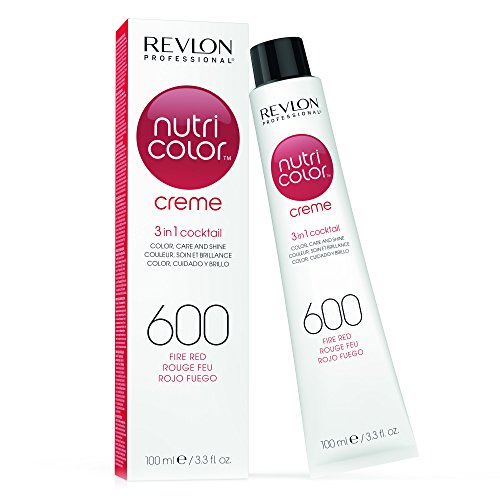 REVLON PROFESSIONAL Nutri Color Creme Tinte Tono 600 Fire Red - 100 ml