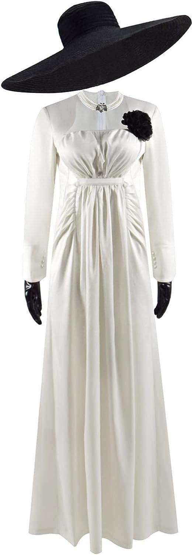 Vampire Lady Alcina Dimitrescu Cosplay New product type Long New item Unifor Costume Dress