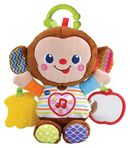 Vtech 80-513404 Babyäffchen Babyspielzeug, Mehrfarbig