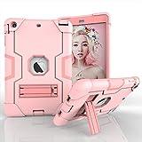 Yoomer Schutzhülle für iPad Mini 2, iPad Mini 3, dreilagiges Silikon + Harte PC Bumper Armor...