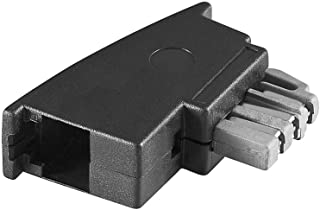 Goobay 50308 TAE Adapter, TAE N Stecker > RJ11/RJ14 Stecker (6P4C)