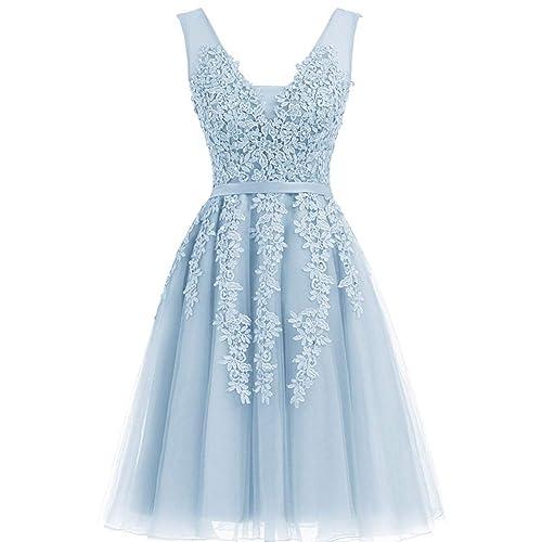 Blue Bridesmaid Dress: Amazon.com