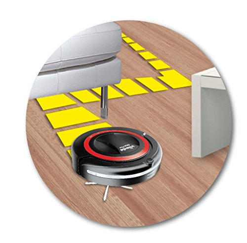 Vileda 147276 Relax Plus – Saugroboter zur Zwischendurchreinigung glatter Böden & kurzfloriger Teppiche – mit Ladestation, Hinderniserkennung und Zeitsteuerung – bekannt aus TV - 5