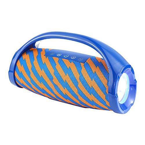 1 PC Portátil Altavoz Bluetooth Ordenador Altavoces De Iluminación Al Aire Libre De Audio Para Ducha Fiesta Barbacoa Casa Viajes