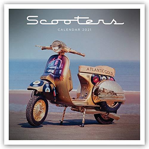 Scooters - Motorroller 2021: Original Carousel-Kalender [Mehrsprachig] [Kalender] (Wall-Kalender)