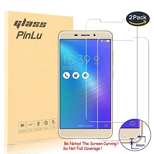 pinlu [2 Pack] Protector de Pantalla de Cristal para ASUS ZenFone 3...