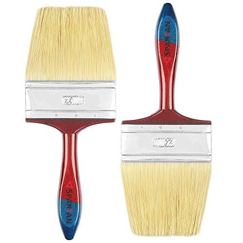 Spartan Paint Brush Set of 2 (125 MM) STN, Multicolor