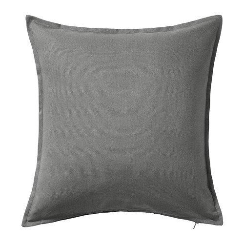 Ikea IKE-602.811.44 Gurli-Kissenbezug, grau-50x50 cm