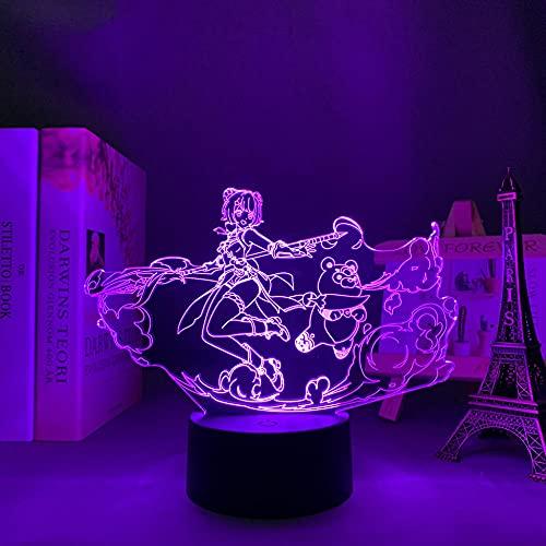 Lámpara LED de noche suave y ligera para dormitorio, decoración de cumpleaños, decoración de cactus, decoración de habitación