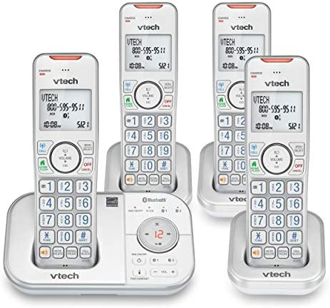 VTECH VS112 47 DECT 6 0 Bluetooth 4 Handset Cordless Phone for Home with Answering Machine Call product image