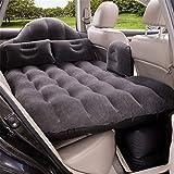 AFDK Auto-Spielraum-aufblasbare Matratzen-Luft-Bett-Kissen-kampierende ausgedehnte Luft-Couch 142 * 90 * 45Cm, purpurrot,Schwarz
