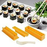 Sushi Making Kit, Sushi Maker, DIY Sushi Making Kit, Roll Sushi Maker Rice Roll Mold, DIY Home Sushi Tool Set, Sushi Maker For Kitchen, Easy Use for Beginners