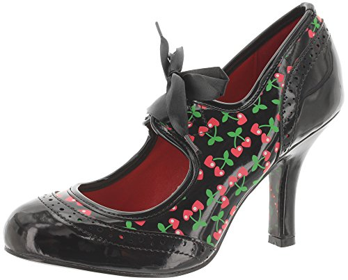 Dancing Days by Banned Pumps Dancing IN The Street BND146 Black Cherry Schwarz 38