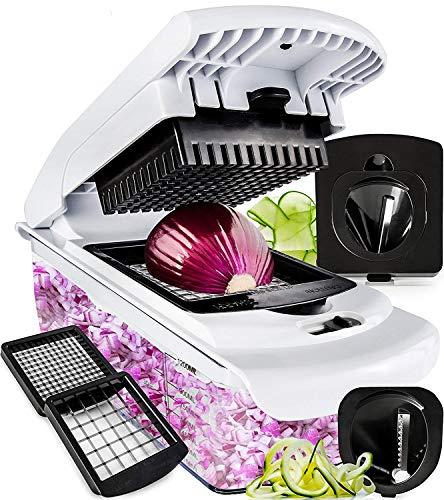 Fullstar Vegetable Chopper - Spiralizer Vegetable Slicer -...