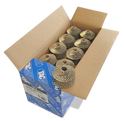 Tacwise 1012 Coilnägel (Ring Verzinkt 2,1/50mm) 14.400 Stück pro Box
