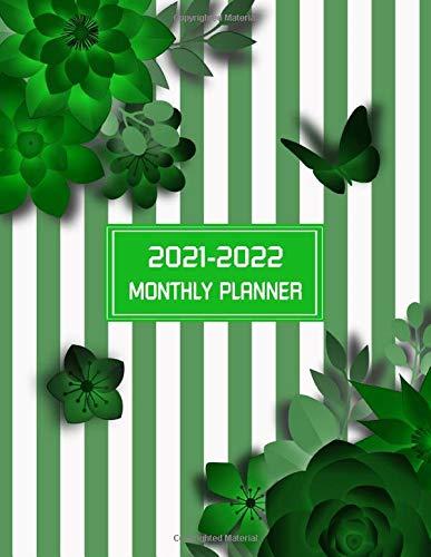 2021-2022 monthly planner: Two Year 24 Months Calendar Monthly Planner and Agenda Schedule Organizer  Mississippi