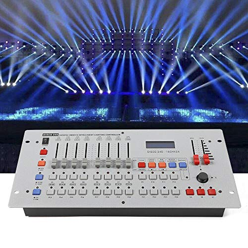 DMX 512 Controller Console Mischpult 240 Kanäle Channels Lichteffekte Equipment Operator Equipment Moving Head Stage Light