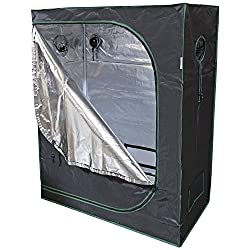 Buy Urban Farmer 48x24x60 Reflective Mylar Hydroponic Grow Tent for Indoor Plant Growing