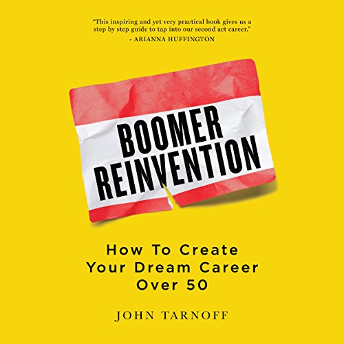 Boomer Reinvention audiobook cover art