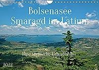Bolsenasee Smaragd im Latium (Wandkalender 2022 DIN A4 quer): Zauberhafter See noerdlich von Rom wo es noch keinen Massentourismus gibt. (Monatskalender, 14 Seiten )