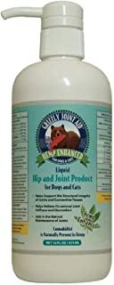 Grizzly Hemp Enhanced PCR Liquid Hip & Joint Product 16 oz - Pack of 2