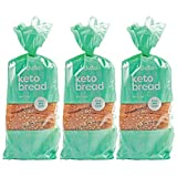 "LOW CARB BREAD? HOW ABOUT NO CARB BREAD? It's no secret that the keto diet comes with a long list of ""no's"". No more pasta. Bread is out - but hold up... We've developed a true, zero net carb bread to satisfy your bakery cravings. 0g-Net Carbs, 100% ..."