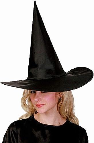 Zicue Masque Humoristique Masque de Bal Chapeau de sorcière HalFaibleeen Pur Chapeau de Spire Noir Chapeau Oxford ( Couleur   noir )