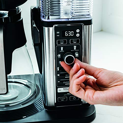 Product Image 12: Ninja Specialty Coffee Maker, with 50 Oz Glass Carafe, Black and Stainless Steel Finish