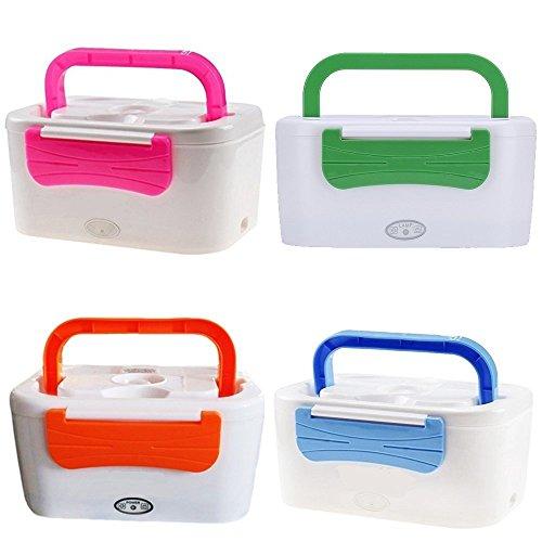 SCALDAVIVANDE Elettrico Totalmente Estraibile Lunch Box Portatile colori assortiti